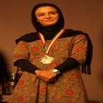 Merila Zarei , ambassador of Mehrafarin in cinema and art fields Artistic ambassador of Mehrafarin