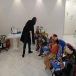 Holding pre-school courses in Mehrafarin