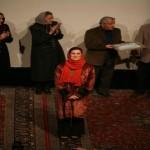 Fatemeh Motamed Aria, standing next to Mehrafarin always as an ambassador