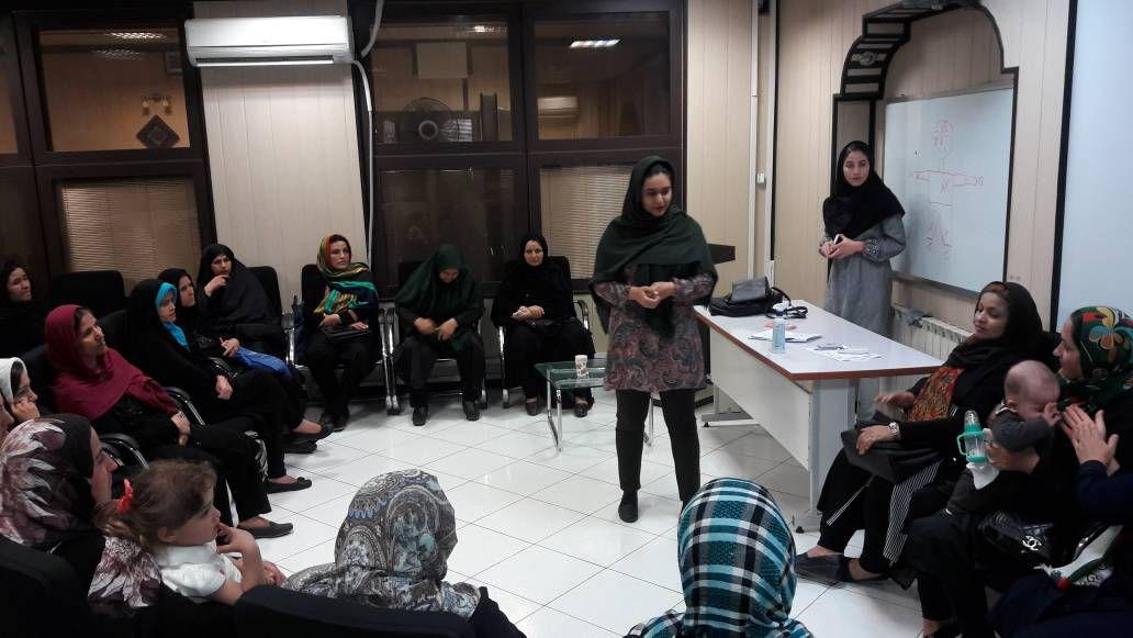Educational course was held in Youth department about anger control