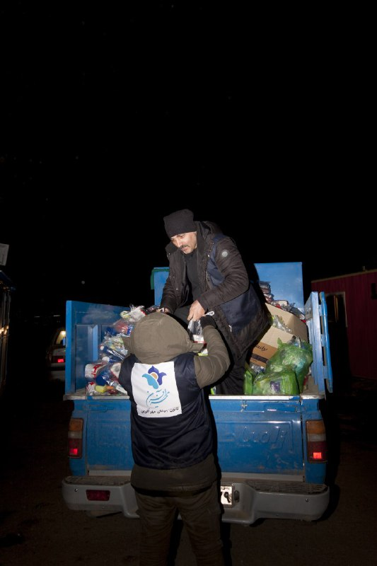 A sob called Kermanshah / report of Mehrafarin team from their travel to distribute donations of youth department