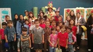 کودکان مهرآفرین به تماشای تئاتر موزیکال