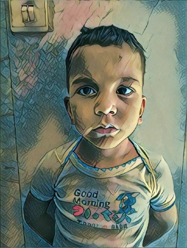 کودک ۴ ساله  که قربانی والدین معتاد شد
