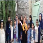 کلاسهای آموزشی در اردوی دو روزه دختران