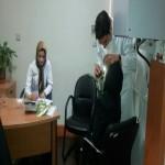 ویزیت و معاینه ی رایگان دندانپزشکی مددجویان در کانون جوانان مهرآفرین