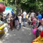 جشن تابستانی کودکان کار در سرای سالمندان