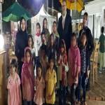 افطاری بزرگ یاور مهرآفرین در کرمان/ این مرد همیشه کنار بچههاست