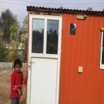 کانکس های گرم به لطف مهرآفرینان، هر روز خانواده های جدیدی را در خود پناه می دهند.