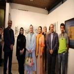 خوزستان قلب تپنده ایران است / گزارشی از افتتاحیه نمایشگاه خوشنویسی در حمایت از کودکان سیلزده خوزستان