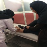 قدمهای بدون درد/ جراحی موفقیت آمیز دختر کرمانشاهی