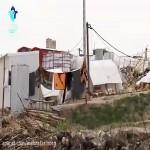 خانه تکانی مردم در مناطق زلزله زده کرمانشاه