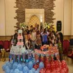 جشن تولدی شاد برای کودکان نیمه دومی/  قول برآورده کردن آرزوهای بچهها، هدیه مدیرعامل مهرآفرین بود