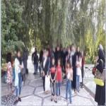 اردوی تفریحی دختران در باغ-ویلای کردان