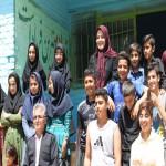 ساخت مدارس در روستاهای محروم  و زلزله زده توسط مهرآفرین