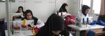 راه اندازی کارگاه خیاطی در جنوب تهران به قصد کارآفرینی و درآمد زایی برای مددجویان