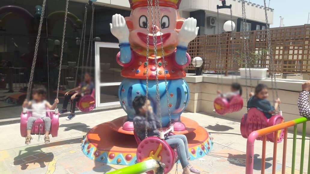 اردوی تفریحی کودکان مشهدی در شهربازی