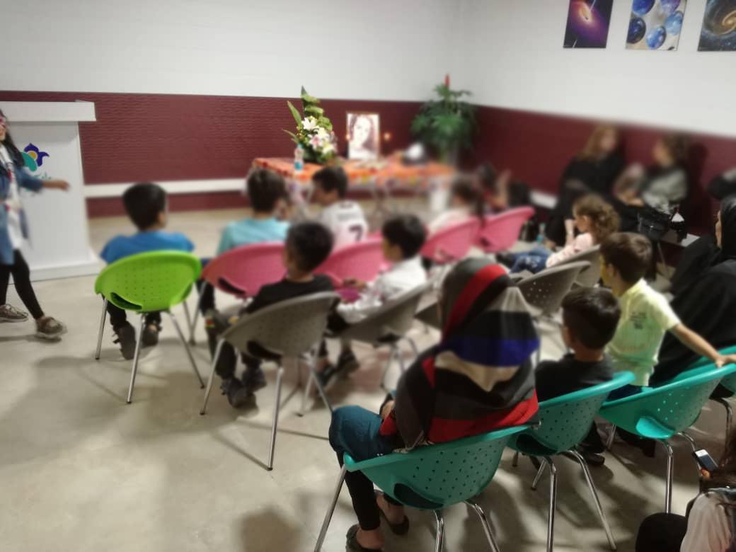جشن تولد دختر آسمانی با حضور کودکان مهرآفرین