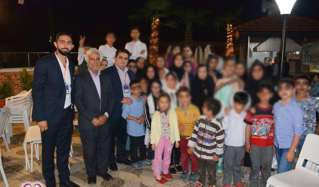 کودکان مشهدی در مهمانی بنیاد لبخند کودک