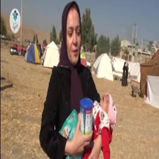 روایتی از مدیریت به بحران و توزیع اقلام اهدایی در مناطق زلزله زده
