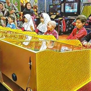 روز رویایی بچه های مهرآفرین در شهربازی ژوپیتر