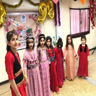 جشن نوروزی در پایگاه خدمات اجتماعی مهرآفرین در سر پل ذهاب