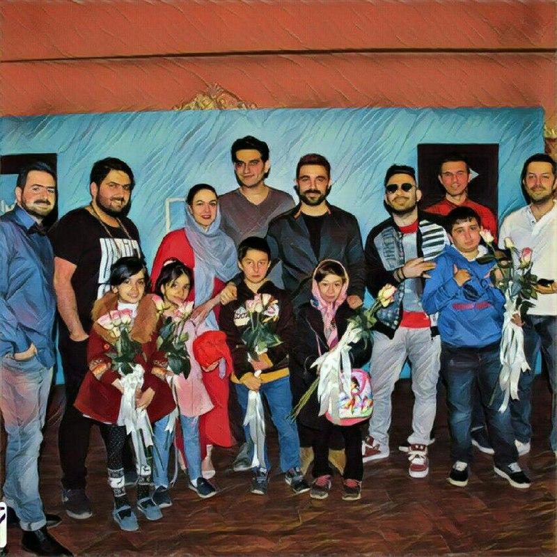 پنج نفر از دانش آموزان کوشا و نمونه مهرآفرین به برنامه زنده و پر هیجان تهران دابشو رفتند.