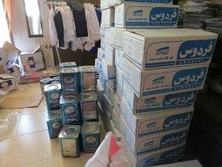 بیش از ۱۰۰سبد مواد غذایی بین نیازمندان تحت پوشش خیریه مهرآفرین در كرمان توزیع شد