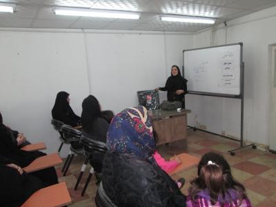کارگاه آموزشی فرزند پروری ویژه مادران برگزار شد