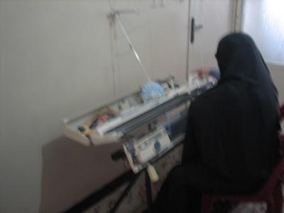 راه اندازی واحد کارگاه خانگی مددجوی تحت حمایت مهرافرین