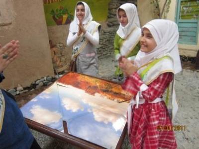 اردوی فرهنگی کودکان مهرآفرین در مرکز فرآموز شکیب