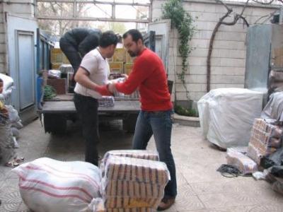 ارسال محمولههای مواد غذایی و پوشاک به مناطق تحت پوشش مهرآفرین در کشور