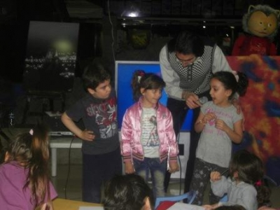 جشن و شادی کودکان در جشنوارهی از بهار تا بهار مهرآفرین