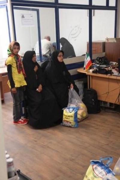 گزارش عملکرد سه ماهه دوم سال 1391 واحد مددکاری- شعبه تهران