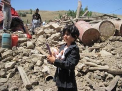گزارش دیده بان مهرآفرین از مناطق زلزله زده