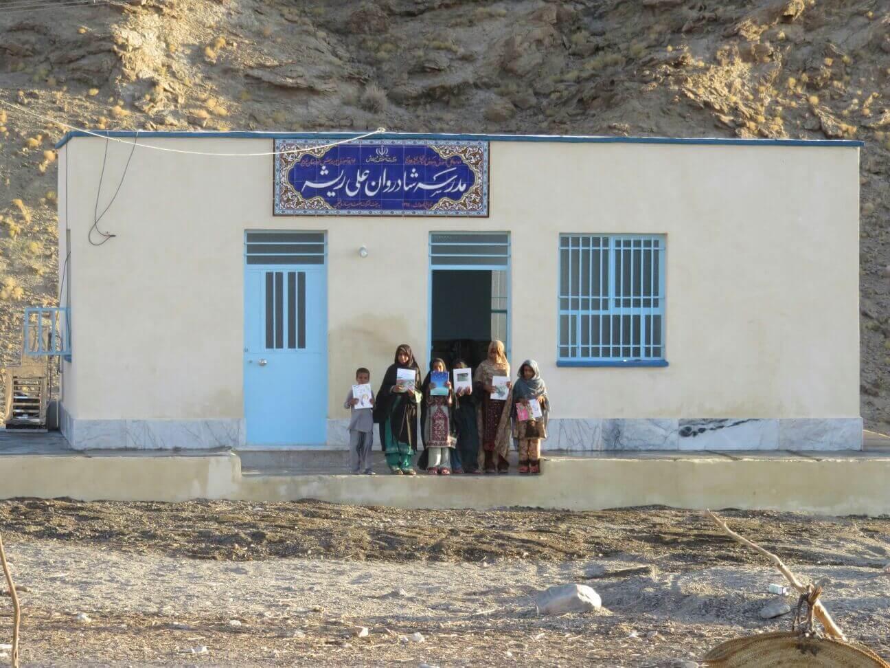 مدرسه مهرآفرین در دلکوک افتتاح گردید