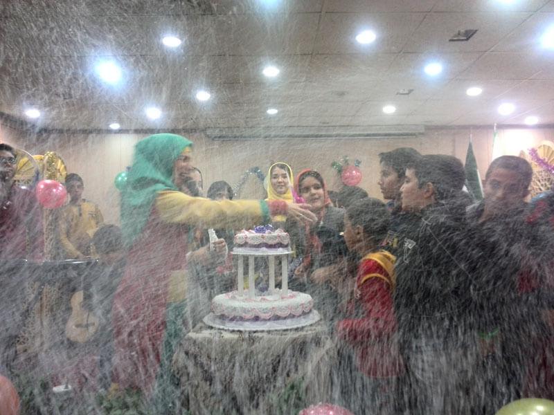 جشن تولد کودکان مهرآفرین برگزار شد