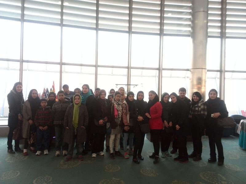 سفر پرهیجان کودکان کار به برج میلاد تهران