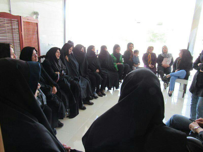 مهرآفرین اقدام به برگزاری کلاس آموزشی نمود