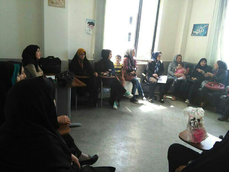 فعالیت مهرآفرین در منطقه حصار کرج