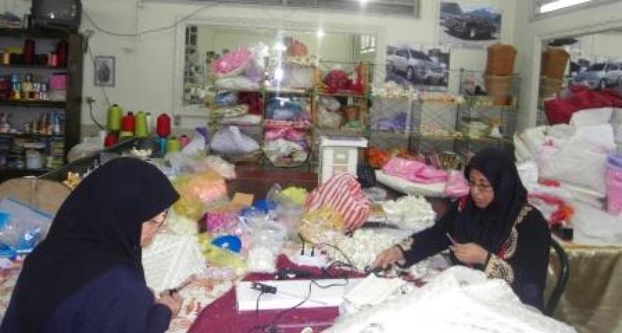 گزارش خبری از کارگاه خیاطی مهر آفرین