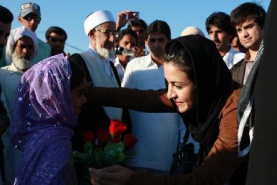 سفر سفیریار هنری مهرآفرین به کتیج سیستان و بلوچستان