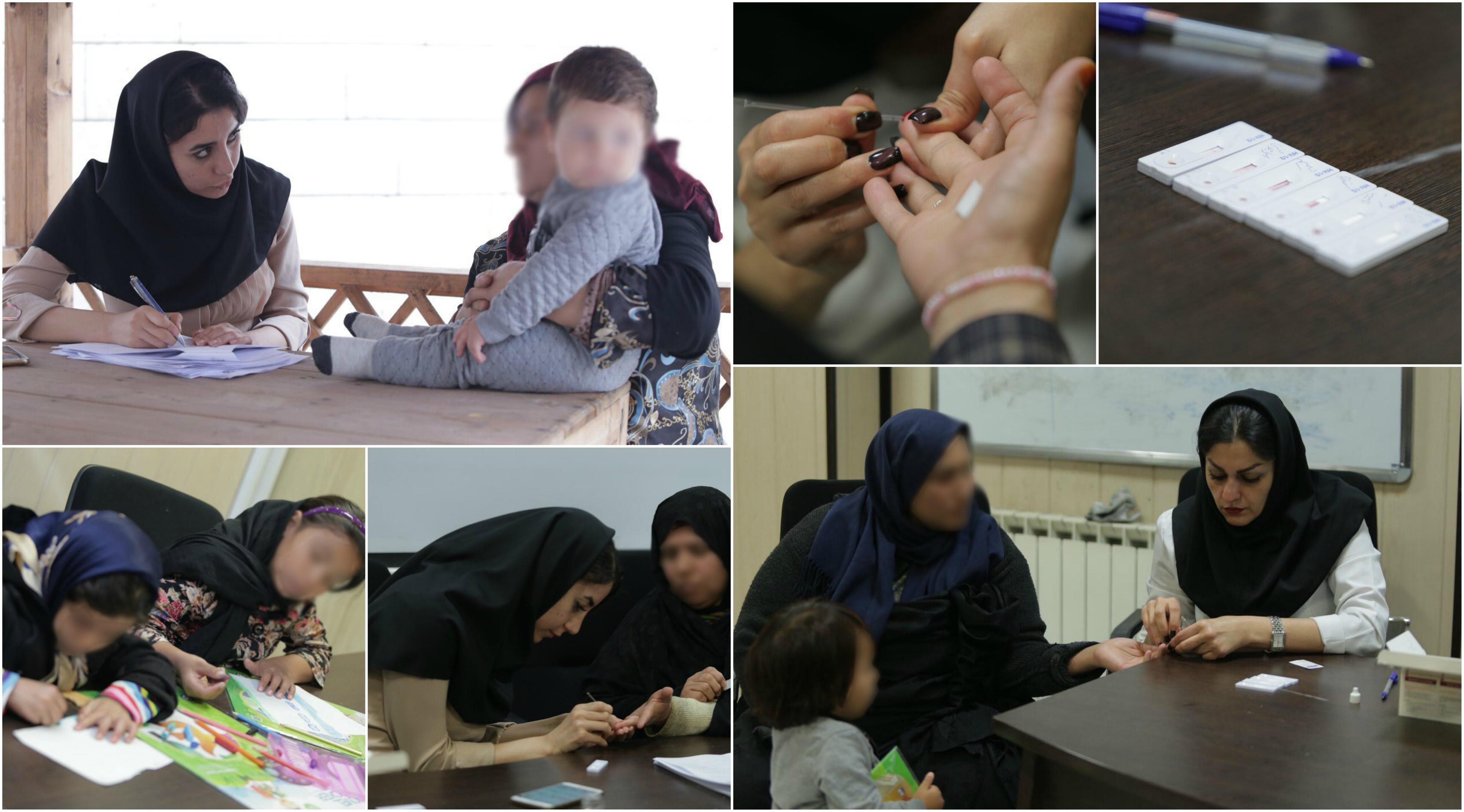 کانون جوانان مهرآفرین(حامی کودکان کار و خیابان)از تعدادی از مددجویان خود آزمایش اچ آی وی گرفت.