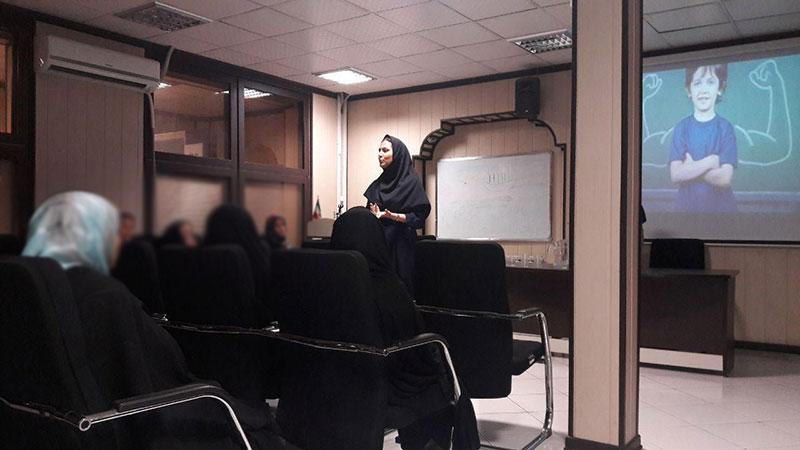 برگزاری کارگاه آموزشی مدیریت استرس و کنترل خشم برای تعدادی از مادران مددجویان
