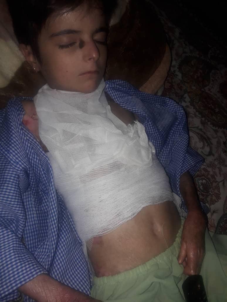 این خانواده در آستانه نابودیست/ کمک به درمان فاطیما و بالا بردن سطح تحمل خانوادهاش