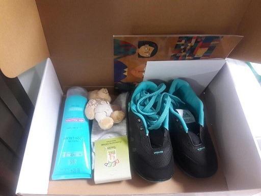 اهدای ۱۲۰ بسته مهربانی به کودکان مهرآفرین