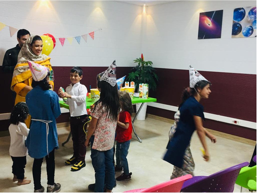 جشن تولد دختر مهرآفرین