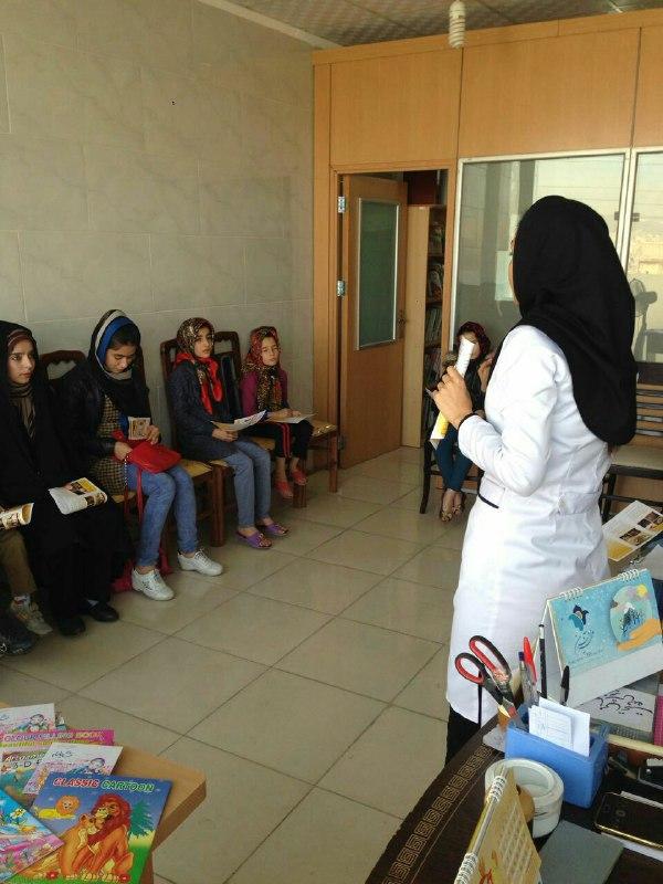 برگزاری کارگاه آموزش و بهداشت فردی با همکاری خانه بهداشت چهار حصار