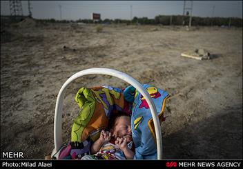 پدر معتادی که نوزاد ۳ماهه اش را ربود!