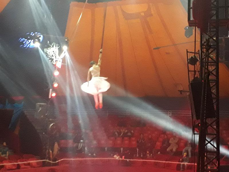 هیجان و شادی کودکان مهرآفرین در سیرک بینالمللی آفتاب