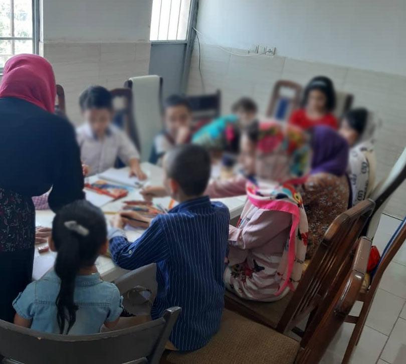طراحی و سرگرمی برای کودکان واحد حصار